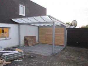 neubau carport w in siegen projektplus. Black Bedroom Furniture Sets. Home Design Ideas